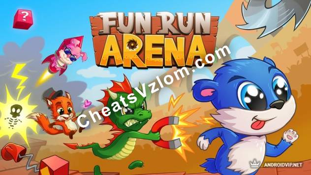 Fun Run Arena Взлом на монеты и алмазы