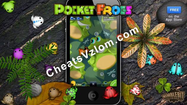 Pocket Frogs Взлом на монеты